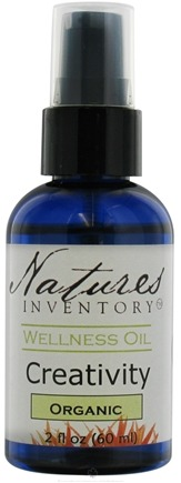 DROPPED: Nature's Inventory - Wellness Oil Organic Creativity - 2 oz.