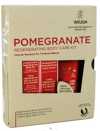 DROPPED: Weleda - Pomegranate Regenerating Body Care Kit - CLEARANCE PRICED