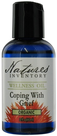 DROPPED: Nature's Inventory - Wellness Oil Organic Coping With Grief - 2 oz. CLEARANCE PRICED