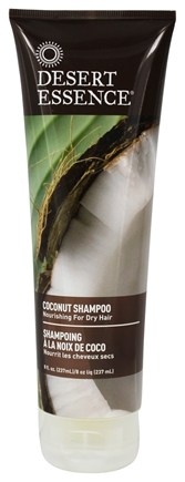 Desert Essence - Shampoo For Dry Hair Coconut - 8 oz.