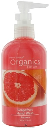 DROPPED: Desert Essence - Hand Wash Awaken Grapefruit - 8 oz.