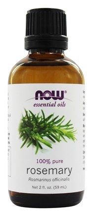 NOW Foods - 100% Pure & Natural Aromatherapeutic Rosemary Oil - 2 oz.