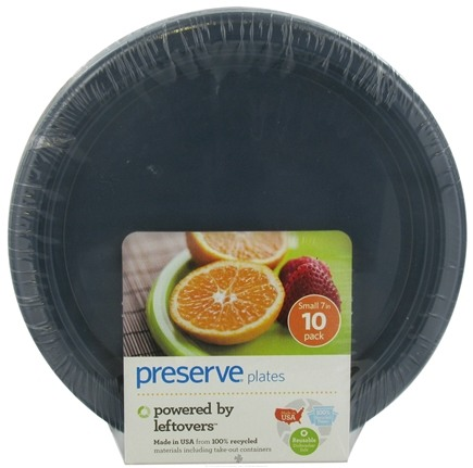 DROPPED: Preserve - Reusable Recycled Plates Small Midnight Blue - 10 Pack(s) CLEARANCE PRICED