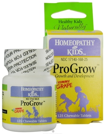 DROPPED: Herbs for Kids - ProGrow Growth and Development Yummy Grape - 125 Chewable Tablets
