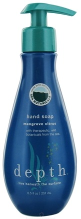 DROPPED: Depth Body - Hand Soap Mangrove Citrus - 8.5 oz. CLEARANCE PRICED