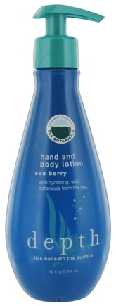 DROPPED: Depth Body - Hand And Body Lotion Sea Berry - 12 oz.