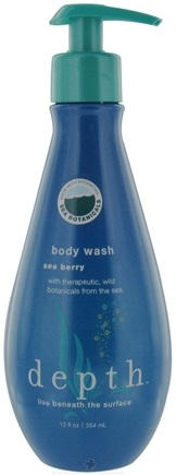 DROPPED: Depth Body - Body Wash Sea Berry - 12 oz. CLEARANCE PRICED