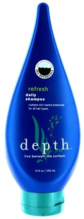 DROPPED: Depth Body - Daily Shampoo Refresh Nutrient-Rich For All Hair Types - 10 oz. CLEARANCE PRICED