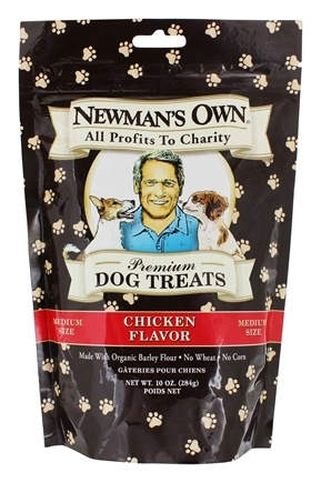 Newman's Own Organics - Dog Treats Medium Size Chicken Flavor - 10 oz.