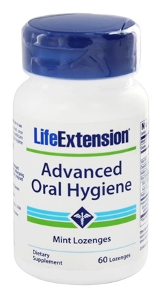 DROPPED: Life Extension - Advanced Oral Hygiene Mint - 60 Vegetarian Lozenges