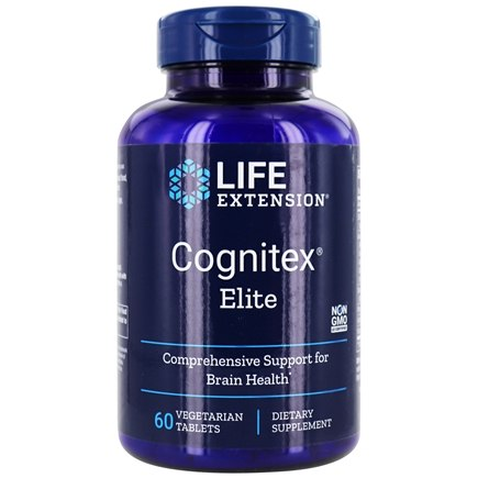 Life Extension - Cognitex with Brain Shield - 90 Softgels