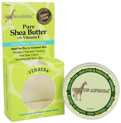 Out Of Africa - Pure Shea Butter with Vitamin E Tin Verbena - 5 oz.