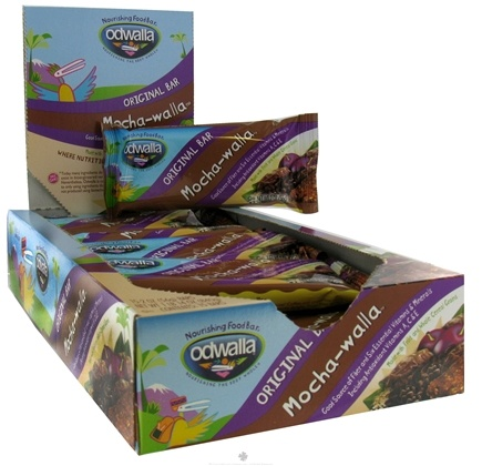 DROPPED: Odwalla - Original Nourishing Food Bar Mocha-walla - 2 oz.
