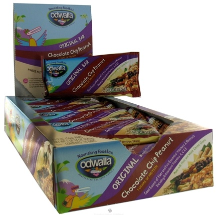 DROPPED: Odwalla - Original Nourishing Food Bar Chocolate Chip Peanut - 2 oz. CLEARANCE PRICED