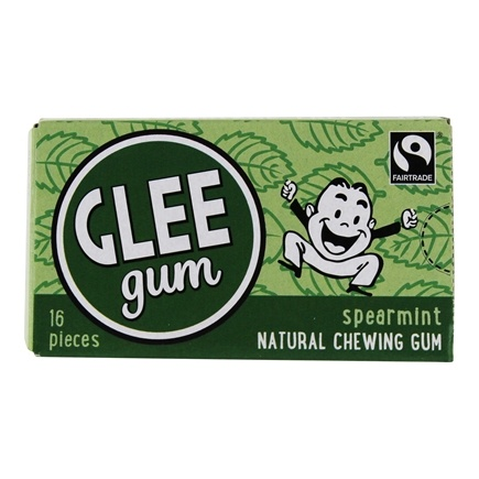 Glee Gum - All Natural Chewing Gum Spearmint - 16 Piece(s)
