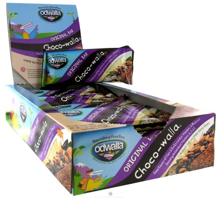 DROPPED: Odwalla - Original Nourishing Food Bar Choco-walla - 2 oz. CLEARANCE PRICED