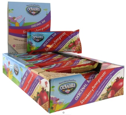 DROPPED: Odwalla - Original Nourishing Food Bar Strawberry Pomegranate - 2 oz. CLEARANCE PRICED