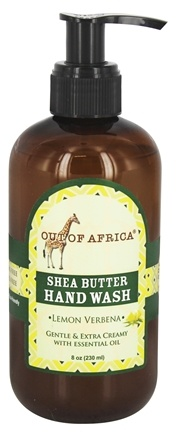 Out Of Africa - Shea Butter Hand Wash Lemon Verbena - 8 oz.