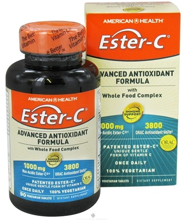 DROPPED: American Health - Ester-C Advanced Antioxidant Formula 1000 mg. - 90 Vegetarian Tablets