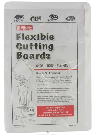 DROPPED: VitaMix - Flexible Cutting Boards Set - CLEARANCE PRICED