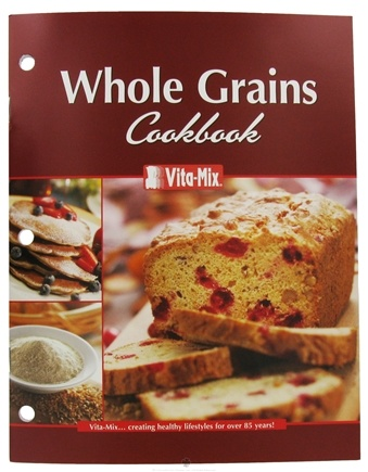 DROPPED: VitaMix - Whole Grains Booklet - CLEARANCE PRICED