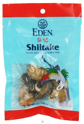 DROPPED: Eden Foods - Shiitake Dried Whole Mushroom - 0.88 oz.