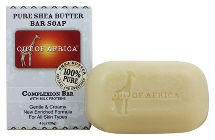 Out Of Africa - Pure Shea Butter Bar Soap Complexion with Milk Proteins - 4 oz.