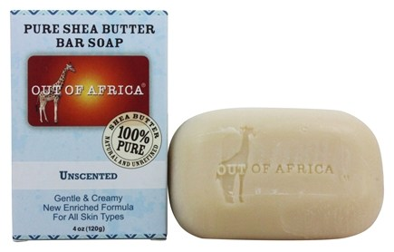 Out Of Africa - Pure Shea Butter Bar Soap Unscented - 4 oz.