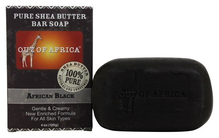 Out Of Africa - Pure Shea Butter Bar Soap African Black - 4 oz.
