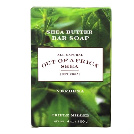 Out Of Africa - Pure Shea Butter Bar Soap Verbena - 4 oz.