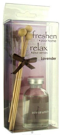 DROPPED: Out Of Africa - Glass Mini Fragrance Diffuser Lavender