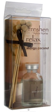 DROPPED: Out Of Africa - Glass Mini Fragrance Diffuser Mango Coconut - CLEARANCE PRICED