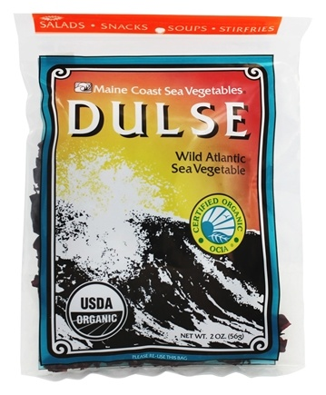 Maine Coast Sea Vegetables - Wild Atlantic Dulse - 2 oz.