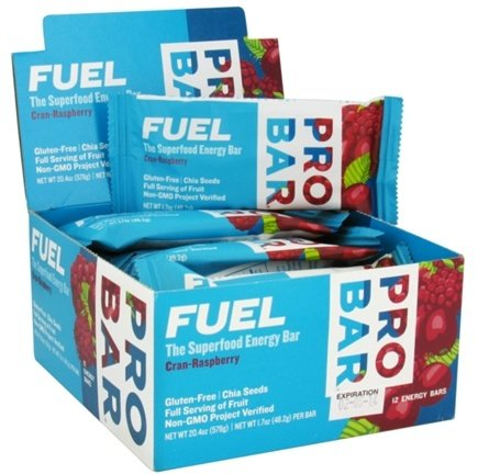DROPPED: Pro Bar - Fuel Bar Cran-Raspberry - 1.7 oz.