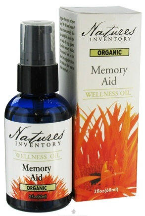 DROPPED: Nature's Inventory - Wellness Oil Organic Memory Aid - 2 oz. CLEARANCE PRICED