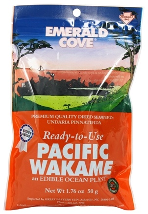 Emerald Cove - Ready To Use Pacific Wakame - 1.76 oz.