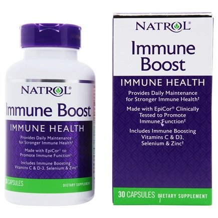 Natrol - Immune Boost All-Season Defense featuring Epicor - 30 Capsules