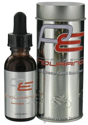 DROPPED: Pure Solutions - Pure Endurance Extreme Sport Supplement Deer Velvet Antler Extract - 1 oz. CLEARANCE PRICED