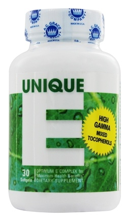A.C. Grace - Unique E Optimum Vitamin E Complex - 30 Capsules