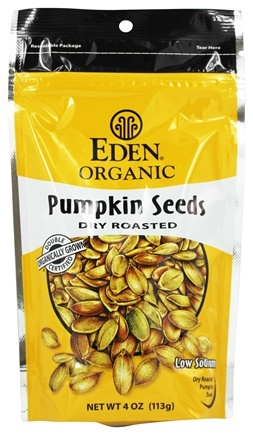Eden Foods - Organic Pumpkin Seeds Dry Roasted - 4 oz.