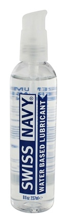 DROPPED: MD Science Lab - Swiss Navy Water-Based Lubricant - 8 oz. CLEARANCE PRICED