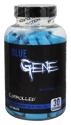DROPPED: Controlled Labs - Blue Gene Natural Anabolic Matrix - 150 Tablets CLEARANCE PRICED