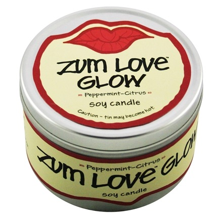 DROPPED: Indigo Wild - Zum Love Glow Soy Candle Peppermint Citrus - 7 oz.