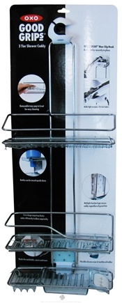 DROPPED: OXO - Good Grips 3 Tier Shower Caddy - CLEARANCE PRICED