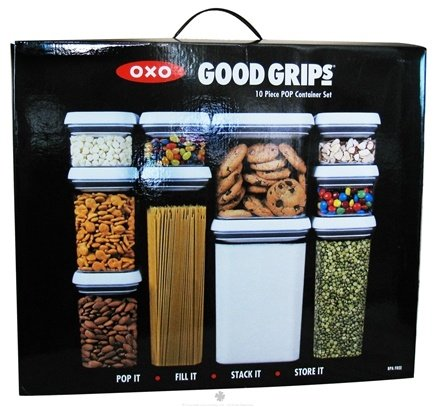 DROPPED: OXO - Good Grips  POP Container Set - 10 Piece(s) CLEARANCE PRICED