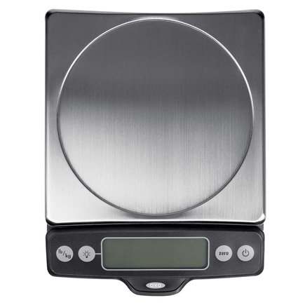 DROPPED: OXO - Good Grips Food Scale with Pull-Out Display