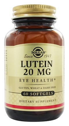 Solgar - Lutein Eye Health 20 mg. - 60 Softgels