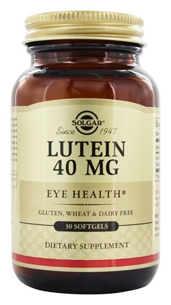 Solgar - Lutein Eye Health 40 mg. - 30 Softgels