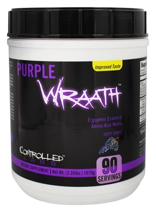 DROPPED: Controlled Labs - Purple Wraath Ergogenic Essential Amino Acid Matrix Grape - 2.39 lbs. CLEARANCE PRICED