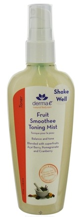 DROPPED: Derma-E - Fruit Smoothee Toning Mist - 4 oz.